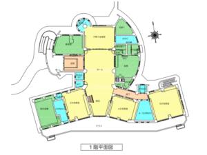園舎内案内図1階