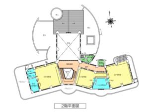 園舎内案内図2階